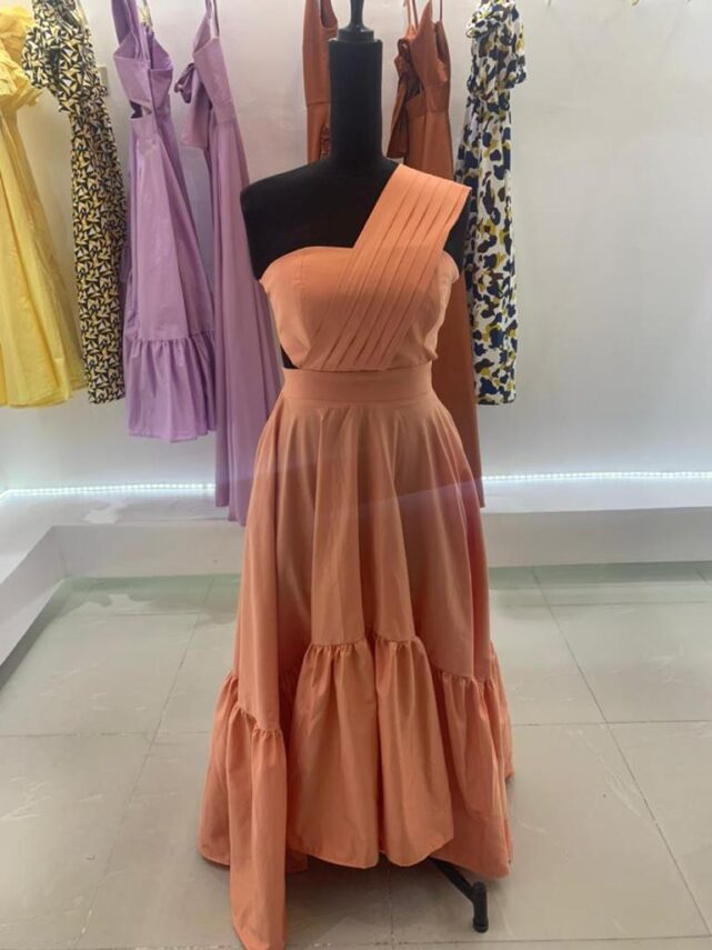 Zinnia Dress by ibilola ogundipe